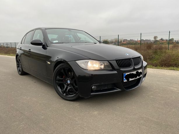 "Piękna BMW E90 320D! M PAKIET! SKÓRY, ALU 18""! Okazja! Zamiana!"