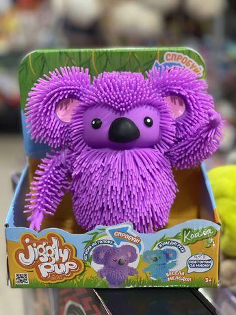 Интерактивная игрушка Jiggly Pup Зажигательная коала фиолетовая