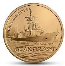 2 zł 2013 Fregata rakietowa Gen. K. Pułaski