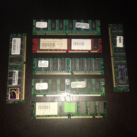 Memorias 128 e 256Mb