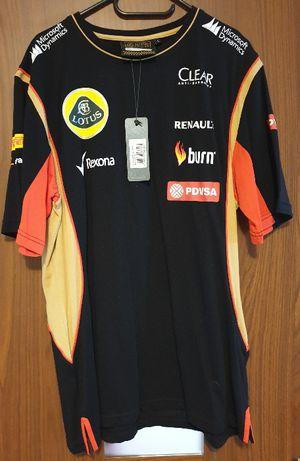 Replika Koszulka t-shirt męski Team F1 LOTUS