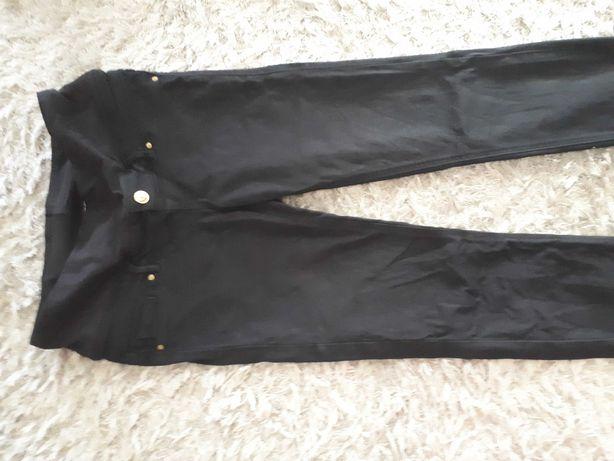 Spodnie ciążowe czarne h&m rozm 36