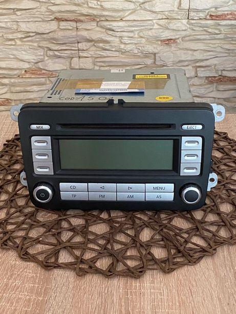 Radioodtwarzacz samochodowe Radio RCD 300 VW Jetta Golf Passat KOD