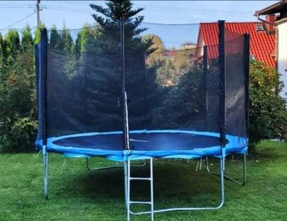 OKAZJA trampolina ogrodowa 375 duża jak NOWA