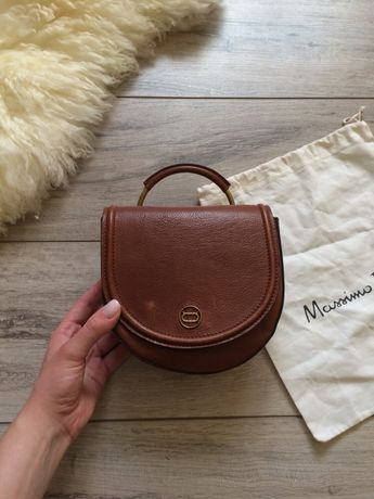 Massimo dutti кожаная сумка оригинал