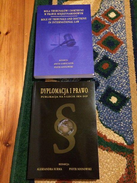 Publikacje z prawa miedzynarodowego - Dyplomacja i prawo-