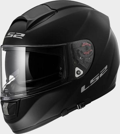 Мотошлем LS2 FF397 черный матовый М шлем мотоциклетный для мотоцикла