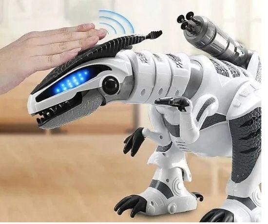 НижеНетЦен! Крутой Динозавр Робот интерактивный Много функций 1825