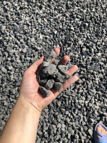 Bazalt, antracyt grys 16-22 - skład z kamieniem ogrodowym