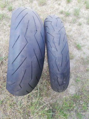 Opony motocyklowe Pirelli Diablo Rosso lll 180/55 zr17 +120/70zr17