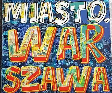 Jestem Miasto Warszawa książka