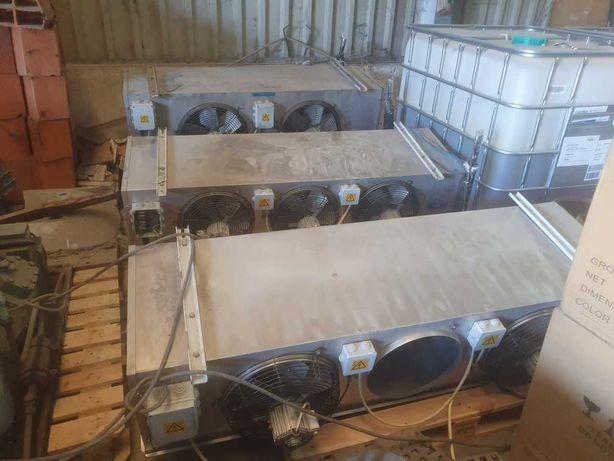3 evaporadores para camara frigorifica