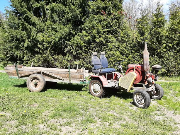 Traktor + przyczepa ESIOK SAM