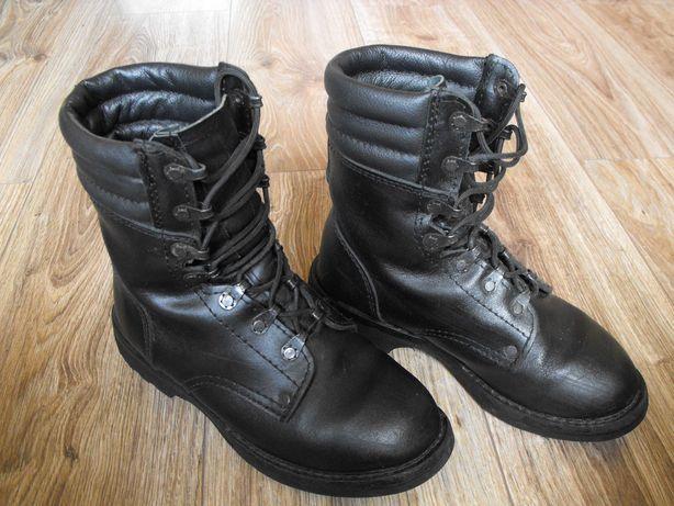 Buty wojskowe wysokie 37 23.5cm Skóra* ochrona/harcerstwo stan BDB