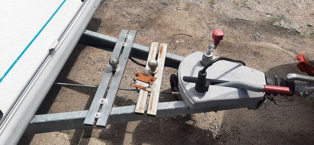 Adapter bagażnika rowerowego na kule na dyszel
