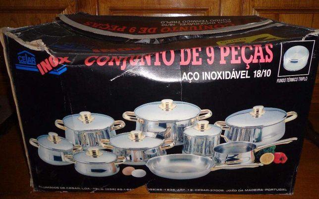 Trem Cozinha em Inox Celar