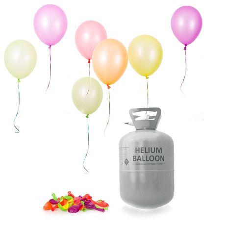 Hel do balonów jednorazowe butle z helem + balony butla jednorazowa