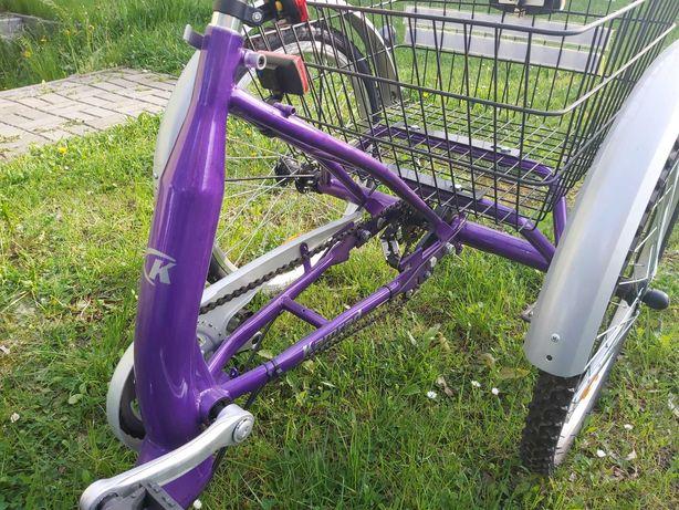 Rower trójkołowy rehabilitacyjny KAMRAD