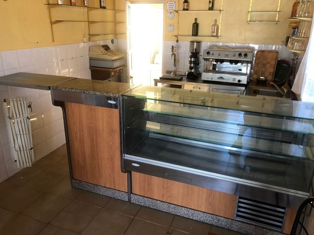 Arcas de refrigeração / frigorífica + Balcões INOX