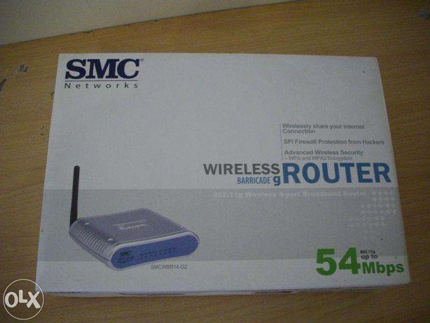 Router SMC até 54mbps