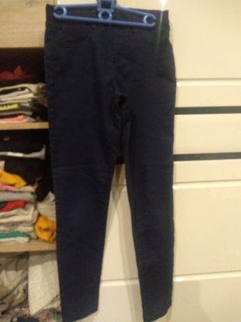 Spodnie Granatowe 134