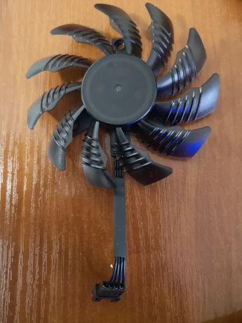 Оригинальный Вентилятор77ММ 12В 4ПИН PLD08010S12HH GTX 1050/1060/1070/