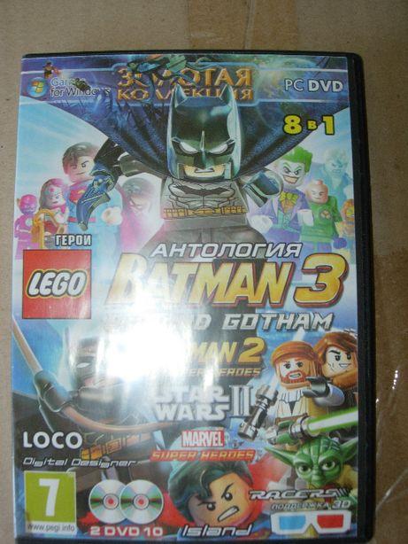Антология Бэтмен 3. Lego Batman 3. PC-DVD. Двухсторонний диск