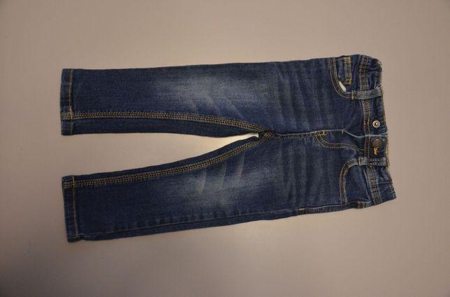 spodnie jeans, granatowe firmy Denim