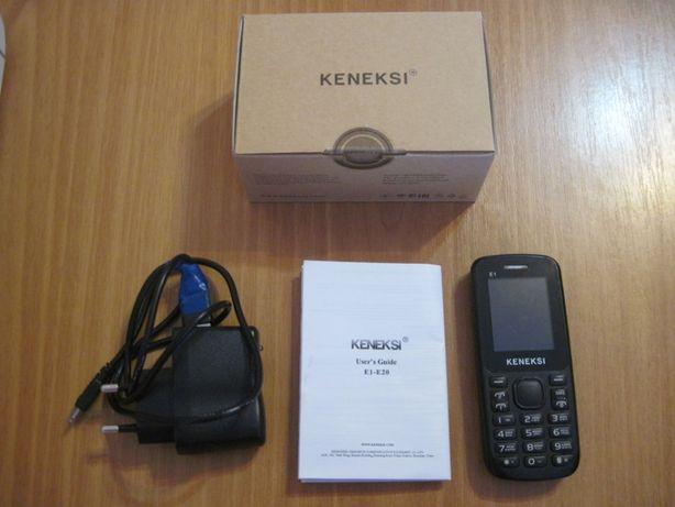 Телефон Keneksi E1 Black