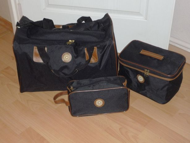 Zestaw : torba + kuferek + saszetka