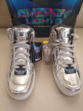 Светящиеся кроссовки Skechers