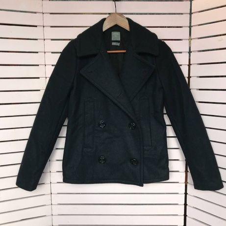 Кашемировое пальто GAP короткое черное оригинальное zara atmosphere