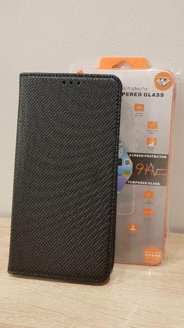 Kabura Telone Smart Book - Iphone 11 Pro Max czarna + szkło hartowane