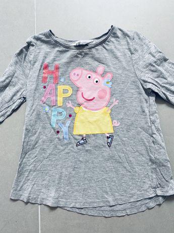 Bluzka z długim rękawem Peppa H&M