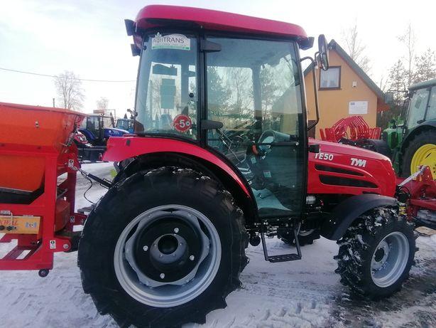 Ciągnik rolniczy, komunalny, TYM TE 50, 50 kM, 4x4, pełzacze, klima