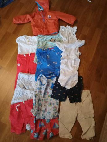 Ubranka chłopięce rozmiar 80