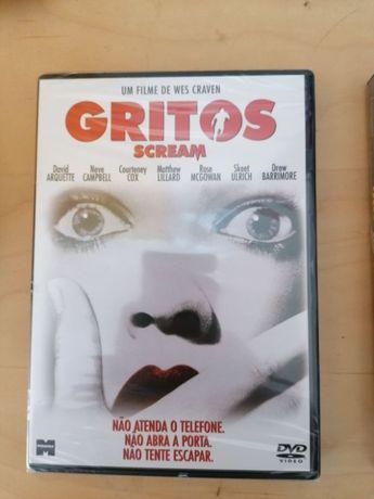 DVD Gritos Selado