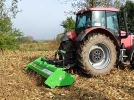 Mulczowanie kukurydzy i łąk
