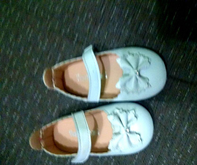 Белые детские туфельки Ватутино - изображение 1