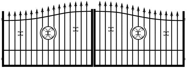 brama wjazdowa dwuskrzydłowa WENUS nowoczesna ogrodzenie DOSTAW GRATIS