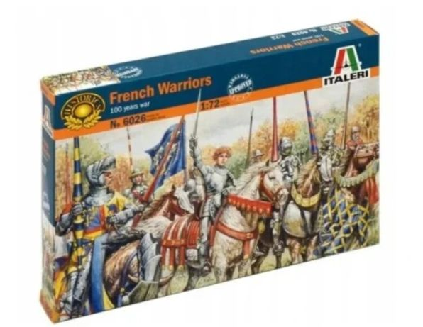 French Warriors 100 years war 1/72 Italeri 6026