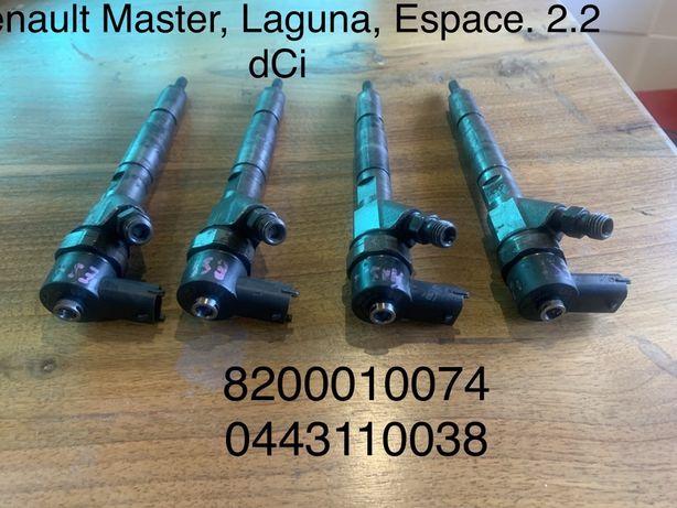Паливні форсунки Renault Master Laguna Espace 2.2dCi