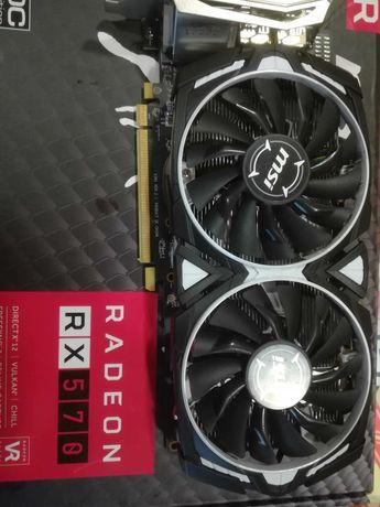 Placa gráfica ARMOR RX570 4GB pronta a minerar
