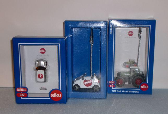 Siku edição limitada 1:87 - Mini, Smart e Tractor Fendt