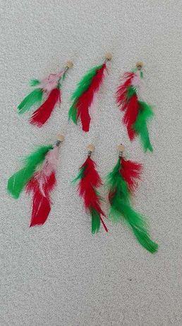Conjunto de aplicações para colares e brincos
