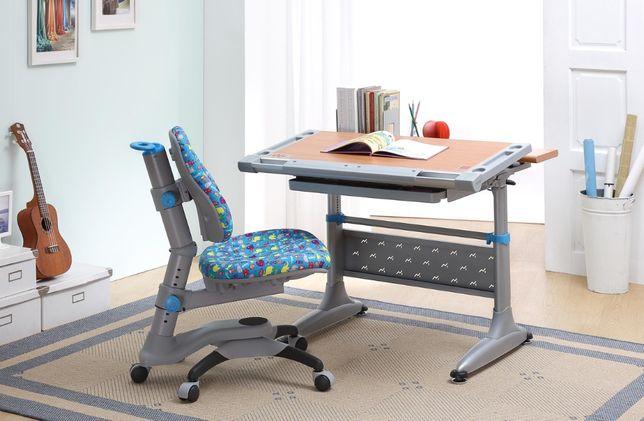 Набор регулируемой мебели - парта + кресло Goodwin (полка в подарок!)
