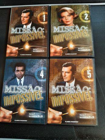 DVD's Série de TV Missão Impossível
