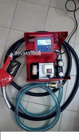 Мобильная АЗС заправочная станция для топлива 220 Вольт, 60 л/мин