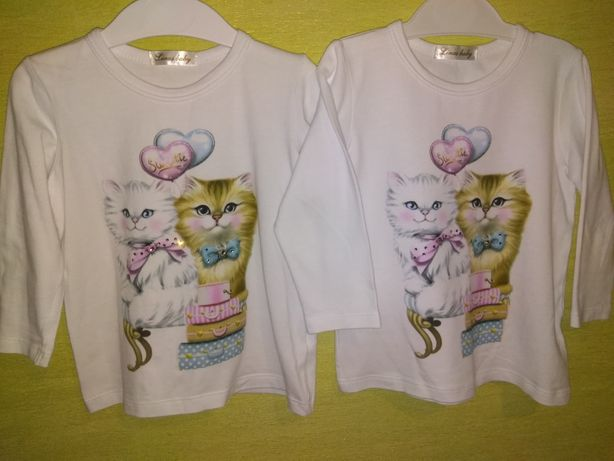 Реглан, гольф, кофта, футболка для двойни, близнецов