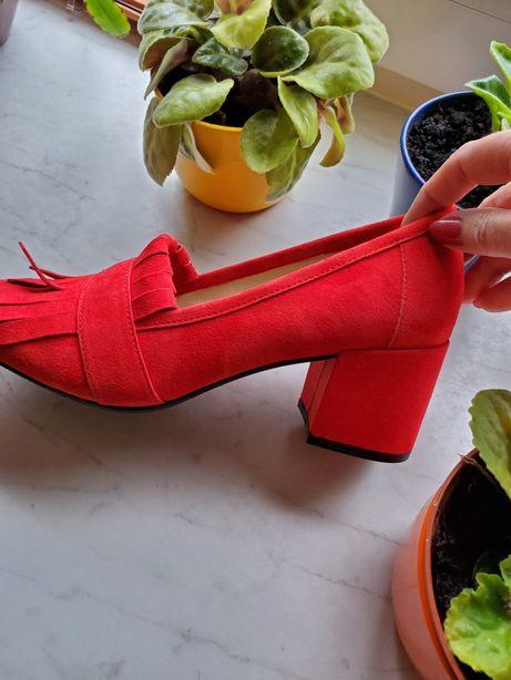 Новые!Туфли замшевые